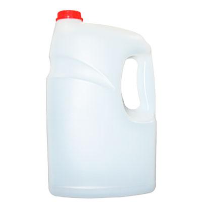 garrafa semi-transparente 3.8 litros asa lateral