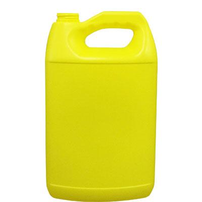 Envases de Plástico -> Garrafa Anticongelante 4 litros color Amarillo