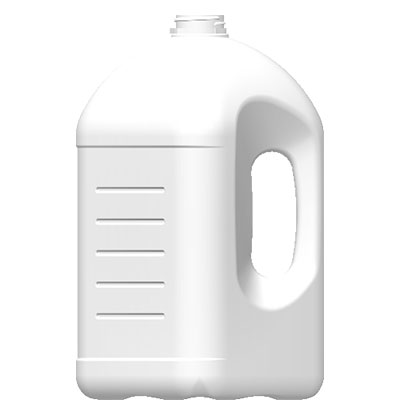 Envases de Plástico -> Garrafa tipo Industrial Cuadrada 4 litros