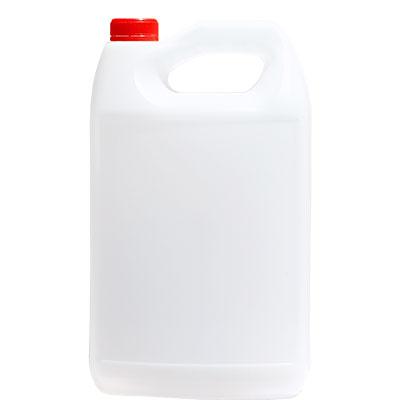 garrafa anticongelante color natural con tapa inviolable color rojo